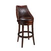 "Pastel Furniture Alta Loma 30"" Swivel Bar Stool with Cusion"
