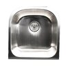 "Nantucket Sinks Quidnet 20"" x 19.5""  Undermount Stainless Steel Kitchen Sink"