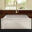 "Nantucket Sinks Cape 24"" x 18"" Fireclay Farmhouse Apron Kitchen Sink"