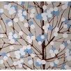 "Marimekko Lumimarja 33' x 27"" Floral and Botanical Embossed Wallpaper"