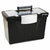 Storex Letter/Legal File Box