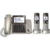 Panasonic® Panasonic Dect 6.0 Corded/Cordless Phone System with Caller Id and Answering System