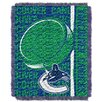 Northwest Co. NHL Canucks Double Play Woven Throw