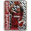 Northwest Co. NBA Dwyane Wade Player Woven Throw Blanket