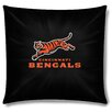 Northwest Co. NFL Cincinnati Bengals Cotton Throw Pillow