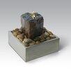 Algreen Basalt Stone Tabletop Fountain