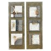 Crestview Collection Dual Hues 2 Piece Painting Print Set