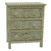Crestview Collection Seaside 3 Drawer Chest