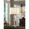 """Crestview Collection Naudical Oar 29.5"""" H Table Lamp with Empire Shade"""