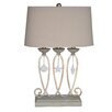 "Crestview Collection Sandune 28"" H Table Lamp with Empire Shade"