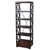 "Crestview Collection Pembroke 1 Drawer 72"" Standard Bookcase"