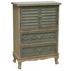 Crestview Collection Biscayne 2 Drawer/2 Door Cottage Cabinet