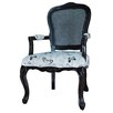 Crestview Collection Butterfly Arm Chair