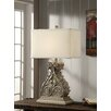 """Crestview Collection Antique Corbel 30"""" H Table Lamp with Rectangular Shade"""
