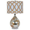"""Crestview Collection Avenue 25"""" H Table Lamp with Drum Shade"""