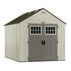 Suncast Tremont 8 Ft. W x 10 Ft. D Resin Storage Shed