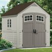 Suncast Cascade 7 Ft. W x 7 Ft. D Resin Storage Shed
