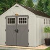 Suncast Tremont 8 Ft. W x 16 Ft. D Resin Storage Shed
