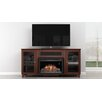 Furnitech Shaker Style TV Stand with Electric Fireplace