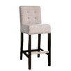 "Abbyson Living Linden 30"" Bar Stool with Cushion"