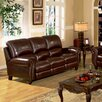 Abbyson Living Charlotte Leather Reclining Sofa