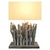 "Bellini Modern Living 24"" H Table Lamp with Rectangular Shade"