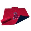 Logo Chairs MLB Los Angeles Angels All Weather Fleece Blanket
