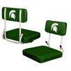 Logo Chairs NCAA Hard Back Stadium Seat