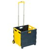 Honey Can Do Rolling Folding Carry-All Crate
