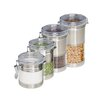 Honey Can Do 4-Piece Canister Set