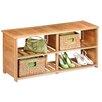 Honey Can Do Bamboo Shoe Bench