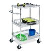 Honey Can Do Three Tier HD Urban Rolling Cart