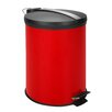 Honey Can Do 3.17-Gal Round Step Trash Can