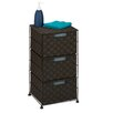 "Honey Can Do 24.02"" 3-Drawer Wheeled Cart"