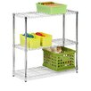 "Honey Can Do Storage 36"" H 3 Shelf Shelving Unit"