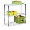 """Honey Can Do Storage 36"""" H 3 Shelf Shelving Unit"""