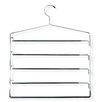 Honey Can Do Five Tier Swinging Arm Pant Rack in Chrome/Black (2 Pack)
