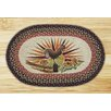 Earth Rugs Rooster Printed Area Rug