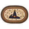 Earth Rugs Witch Hat Printed Oval Area Rug