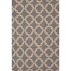 Dash and Albert Rugs Plain Tin Charcoal Wool Micro Hooked Rug