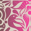 Kreme LLC California Texture 16' x 23.5'' Birds Wallpaper