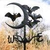 Whitehall Products Halloween Bat Garden Weathervane