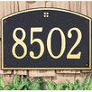Whitehall Products Cape Charles Address Plaque