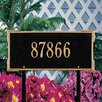 Whitehall Products Roanoke Address Sign