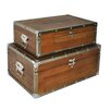 Cheungs 2 Piece Suitcase Set