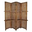 "Cheungs 70.25"" x 70.25"" 4 Panel Room Divider"