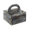 Cheungs Wooden Square Caddy