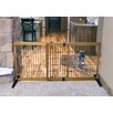 """Carlson Pet Products 28"""" Wood Free Standing Gate"""