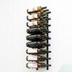 VintageView Wall Series 27 Bottle Wall Mounted Wine Rack