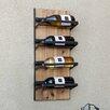 Danya B 4 Bottle Wall Mount Wine Rack
